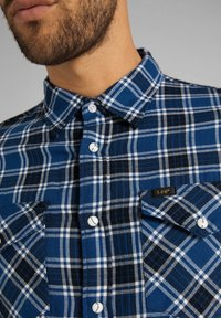 Lee - CLEAN WESTERN - Camicia - washed blue - 4