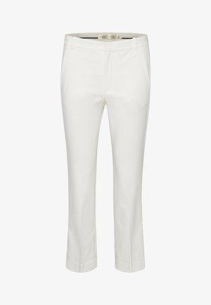 ZELLA KICKFLARE PANT - Trousers - whisper white