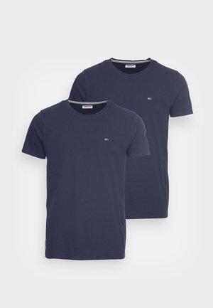 CNECK TEES 2 PACK - T-shirt basic - navy/navy