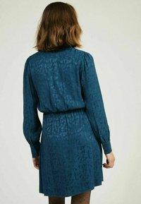NAF NAF - Shirt dress - blue - 2