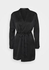 OW Intimates - AMBER KIMONO - Dressing gown - black - 0