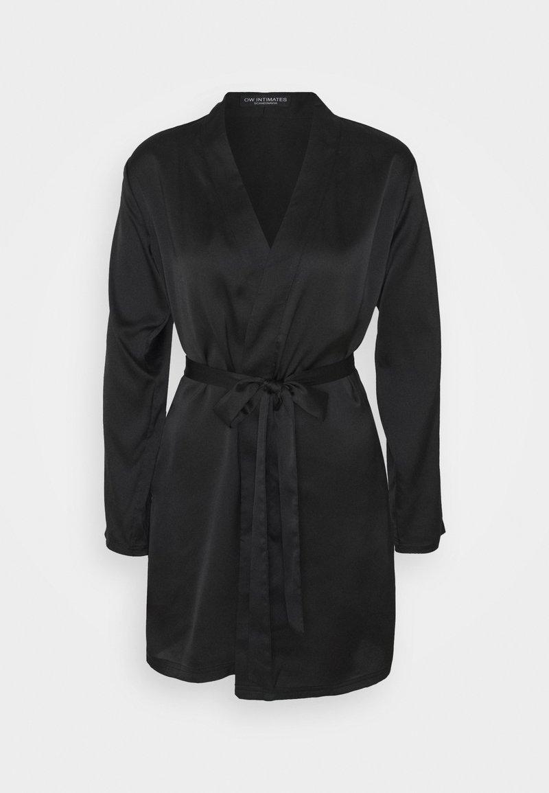 OW Intimates - AMBER KIMONO - Dressing gown - black