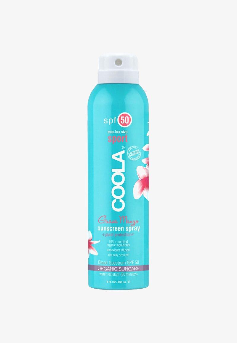 Coola - ECO-LUX SPORT SUNSCREEN SPRAY SPF 50 GUAVA MANGO 236 ML - Sun protection - -