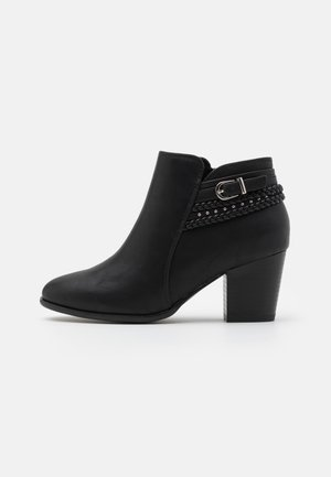 WIDE FIT WHAM - Ankelboots - black