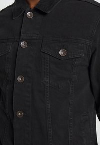 Redefined Rebel - MARC JACKET - Kurtka jeansowa - black stone - 5