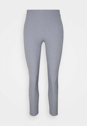 SIMONE PANT LABEL - Trousers - blue