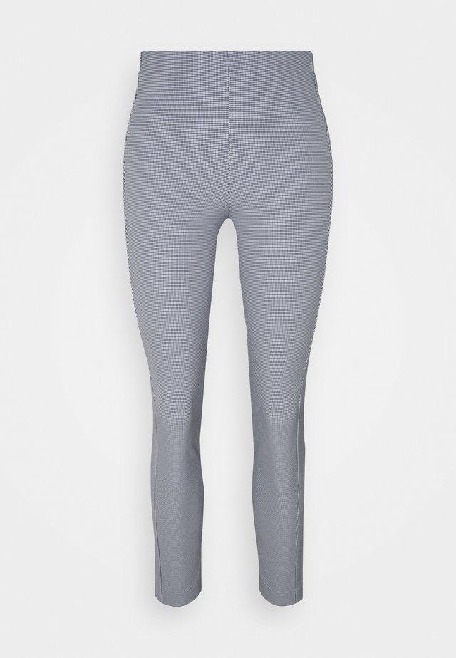 SIMONE PANT LABEL - Pantalon classique - blue