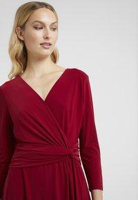 Lauren Ralph Lauren - ZANAHARY - Robe en jersey - vibrant garnet - 4