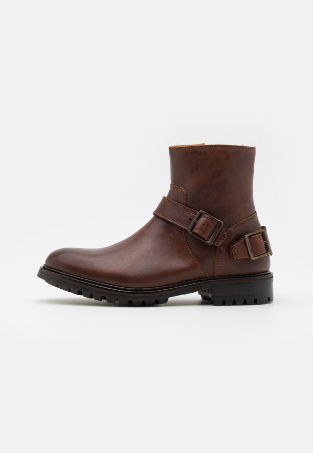 TRIALMASTER - Classic ankle boots - cognac