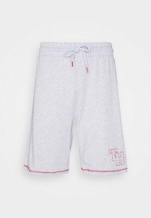 TRACK SHORT - Pyjama bottoms - ice/grey