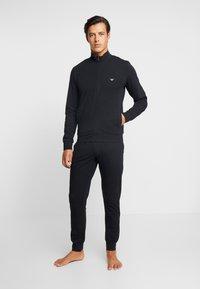 Emporio Armani - BASIC LOUNGEWEAR  - Pyjama - black - 0