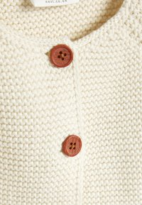 Next - PINK FRILL HEM - Cardigan - off-white - 2