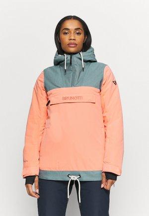 REY WOMEN SNOWJACKET - Snowboard jacket - desert flower