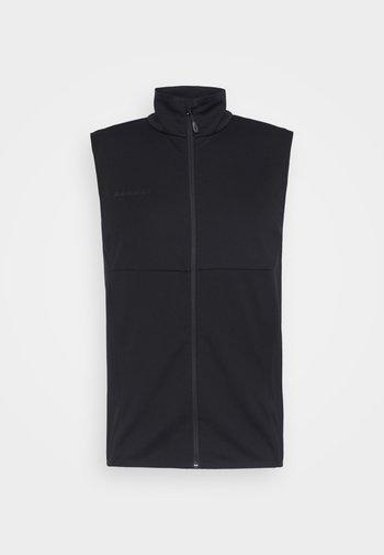 ULTIMATE VEST MEN - Waistcoat - black
