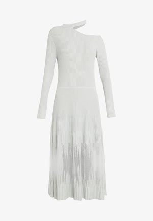 ABITO DRESS - Strikket kjole - white wave