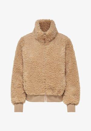 Zip-up hoodie - cuban sand