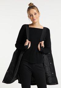 DreiMaster - Winter coat - schwarz - 3