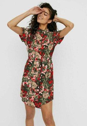 BLUSENKLEID BEDRUCKTES - Shirt dress - multi-color