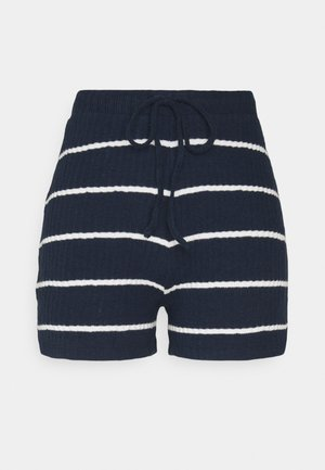 ONLCARLA - Shorts - navy/cloud dancer