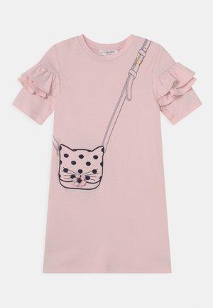 DRESS - Jersey dress - pinkpale