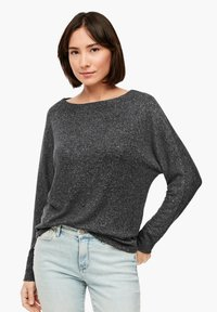 s.Oliver - Long sleeved top - dark grey - 0