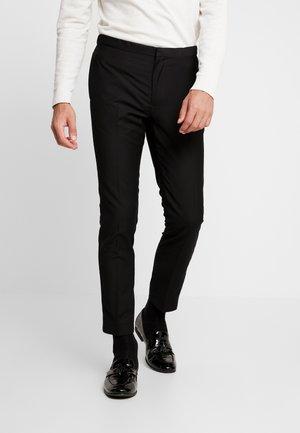 BOND TUX TROUSER  - Suit trousers - black