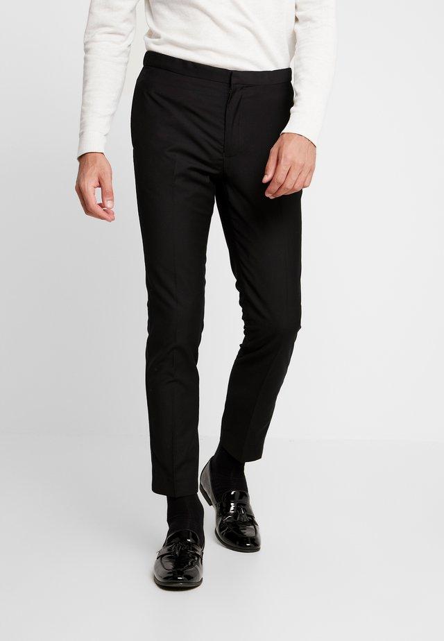 BOND TUX TROUSER  - Pantalon de costume - black