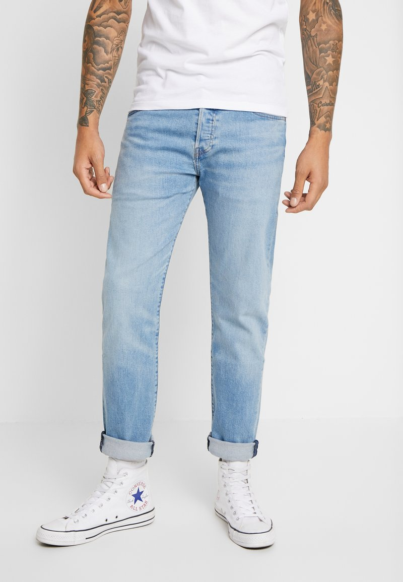 Levi's® - 501® SLIM TAPER - Jeansy Slim Fit - coneflower clouds