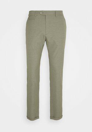 COMO LIGHT SUIT PANTS - Pantalon de costume - lichen green