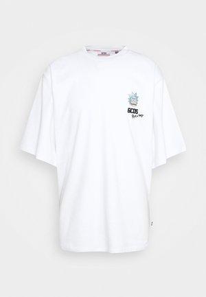 OVERSIZE TEE - Print T-shirt - white