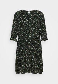Even&Odd - Day dress - black/yellow - 7