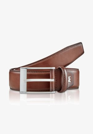 SHADE - Belt business - cognac