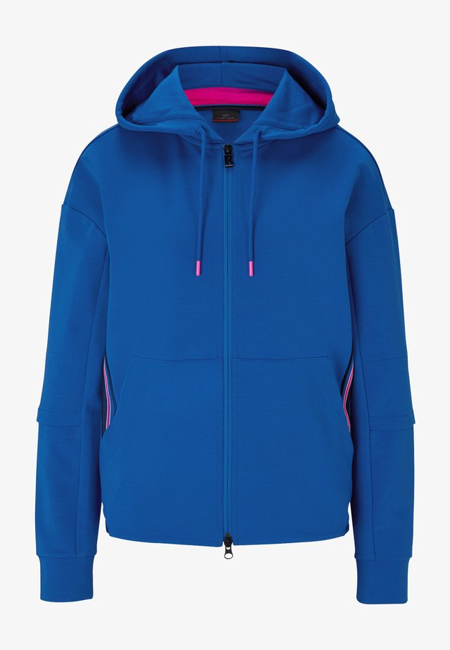 ERLA - Zip-up hoodie - azurblau