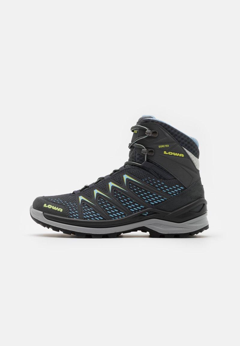 Lowa - INNOX PRO GTX MID - Hiking shoes - graphite/mint