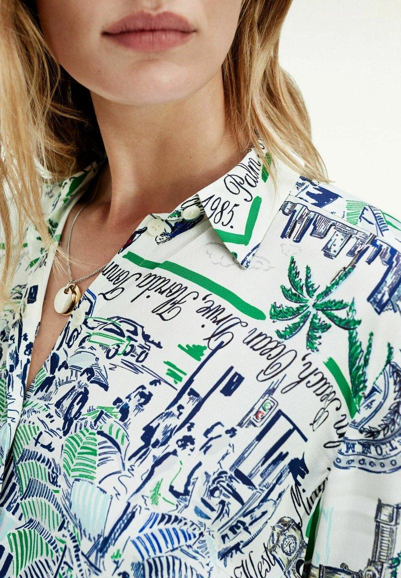Tommy Hilfiger - Button-down blouse -  florida print