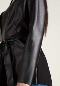 Tezenis - Faux leather jacket - nero - 3