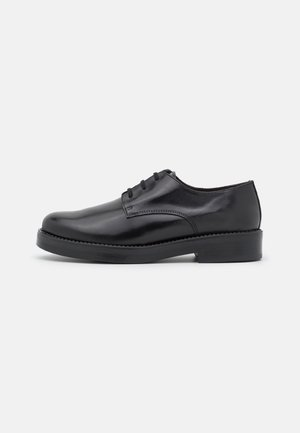 MIDNIGHT - Šněrovací boty - noir