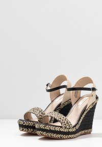 Pepe Jeans - OHARA LOGO - High heeled sandals - black - 4