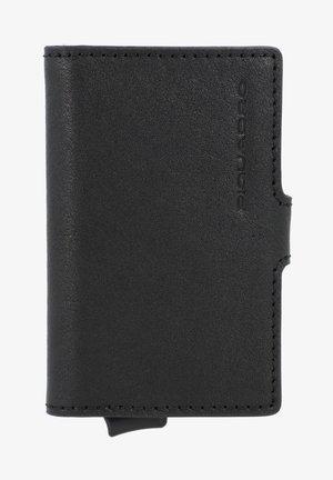 BLUE SQUARE LEDER - Business card holder - schwarz