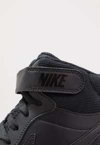 Nike Sportswear - COURT BOROUGH MID 2 UNISEX - Sneakersy wysokie - black - 2