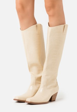 VEGAN ROXY BOOT - Santiags - beige dusty light