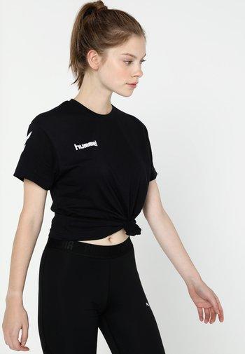 GO WOMAN - T-shirts med print - black