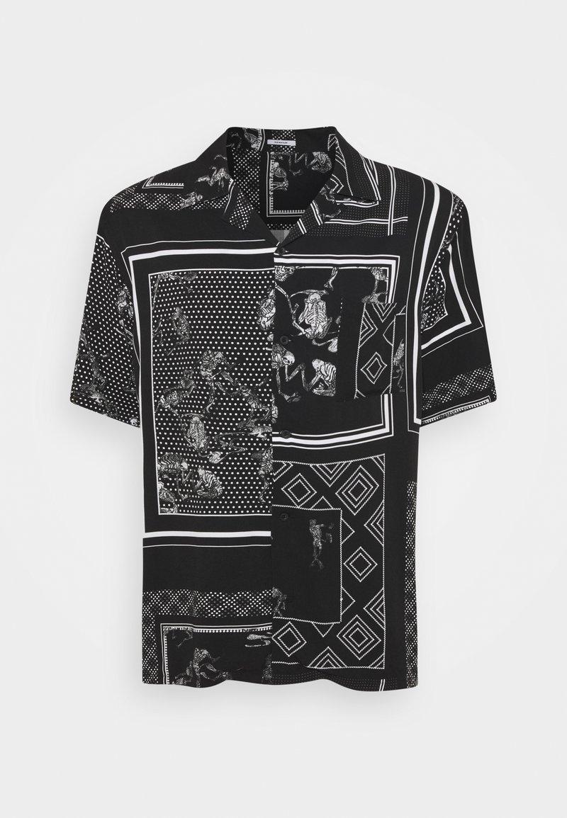 Denham - BOWLING SUMP - Shirt - black