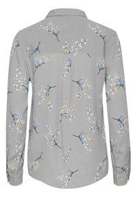 ICHI - Button-down blouse - alloy - 6