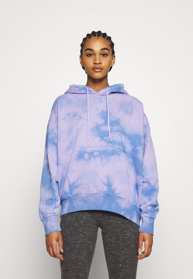 ALISA HOODIE - Bluza z kapturem - purple