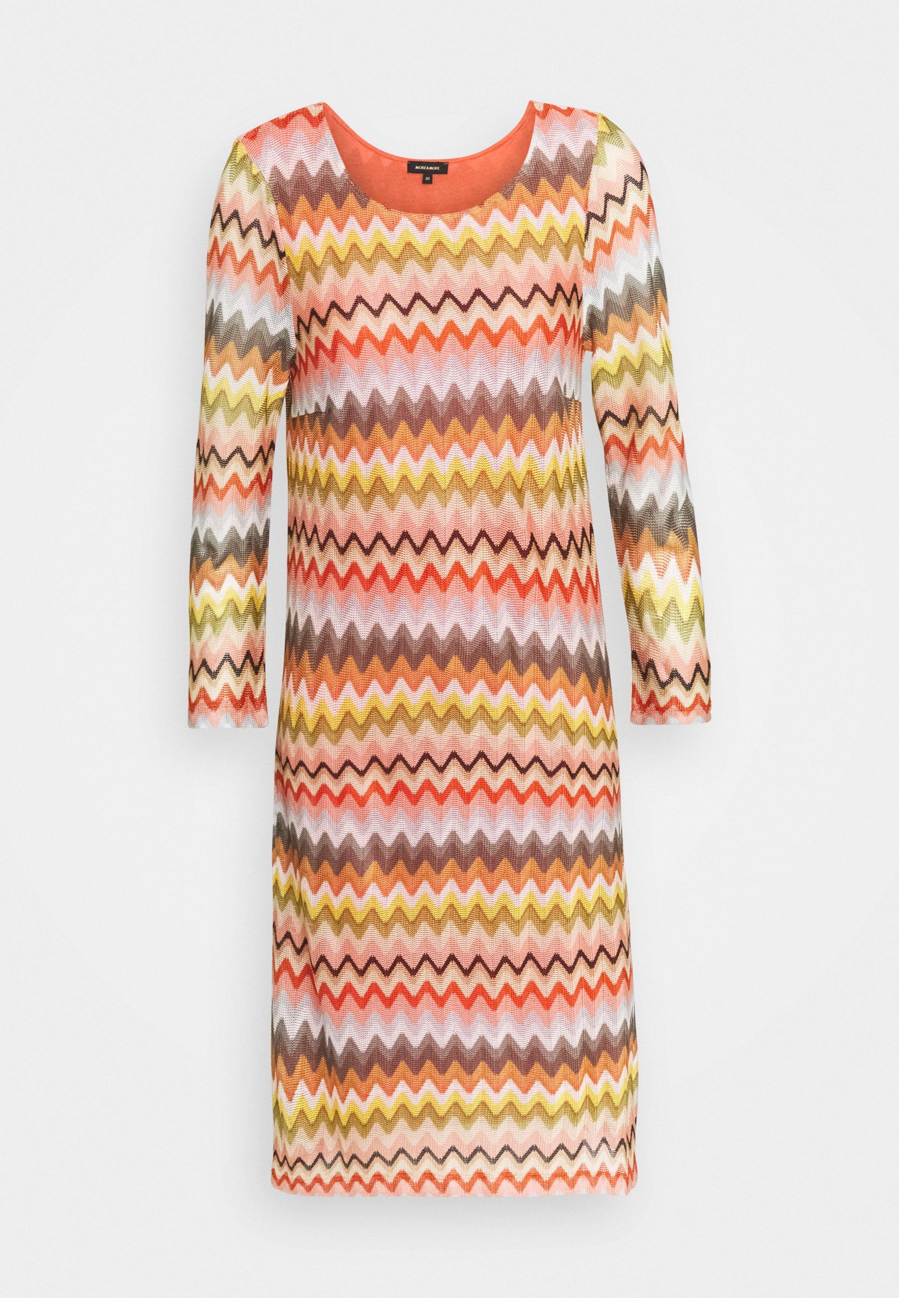 ZICKZACK DRESS   Day dress   offwhite/multi
