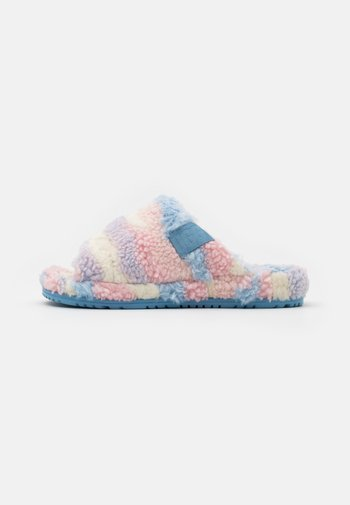 FLUFF YOU CALI COLLAGE UNISEX - Chaussons - pink/purple