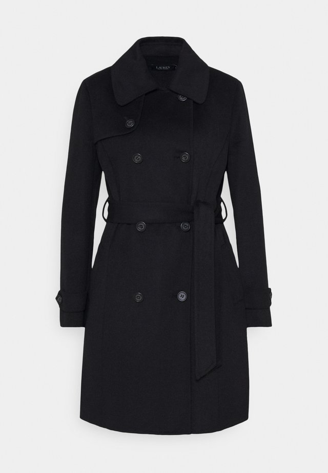 DOUBLE FACE - Zimní kabát - black