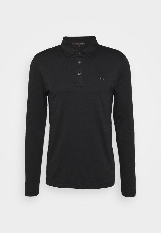 SLEEK - Poloshirt - black