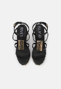 River Island - Platform sandals - black - 5